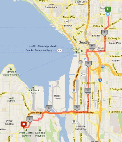 Today's awesome walk, 7.32 miles in 2:09 by christopher575
