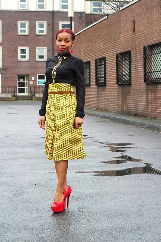 Nigerian Ankara Skirt Blouse Styles