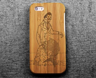 Merman iphone 5 Case X Grovemade