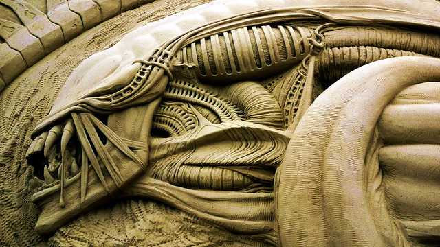 Alien by Radovan Zivny of the Czech Republic