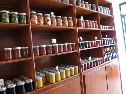 Wall of Preserves