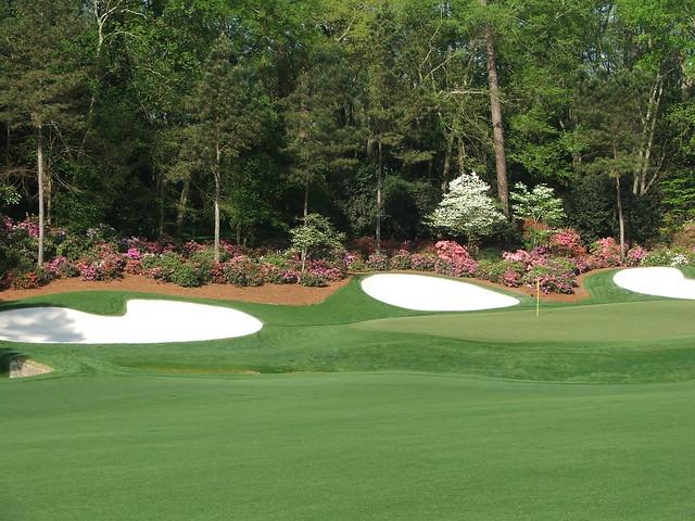 #13 green Augusta