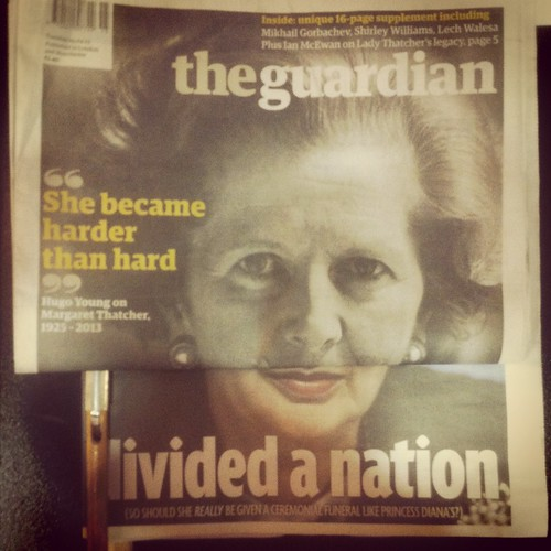Chris Clarke_Thatcher divided