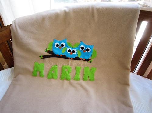 ♥♥♥ A mantinha do Marin... by sweetfelt \ ideias em feltro