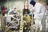 NASA Engineers Rehearse Placement of Webb Telescope's NIRSpec and Microshutters.