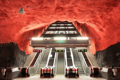 Solna Centrum Station (by: imagea.org, creative commons)