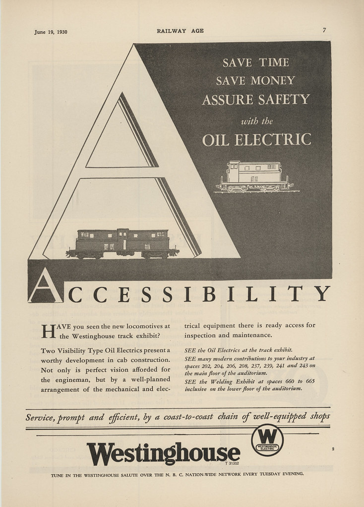 Westinghouse Ad 1930