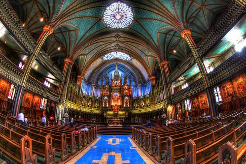 Notre Dame Basilica, Montréal, Québec, Canada