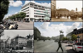 Gothenburg, Kungsportsplatsen 1904 / 2013