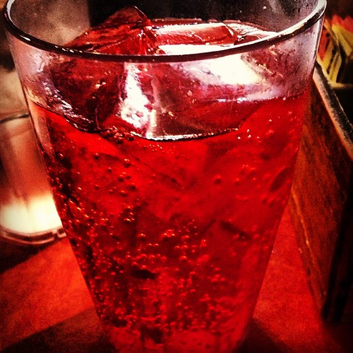 "My Ice , Fresh ... Texas ""BIG RED"" soda!!! Mmmmmm! The drink all Meskins love! by Charlie Lujan"
