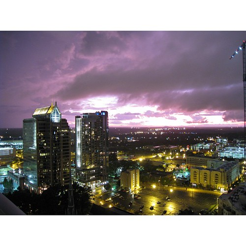 View from the Avenue #nofilter #uptown #clt #ominous #storm (2009)