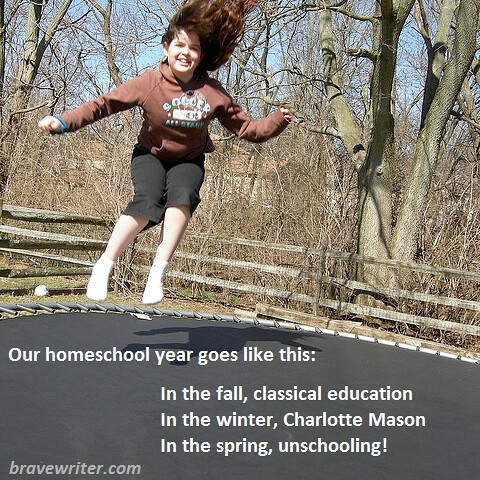 Our homeschooling year
