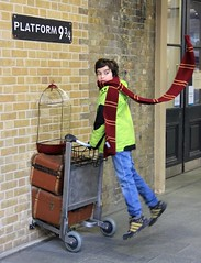 Harry Potter at Platform 9-3/4