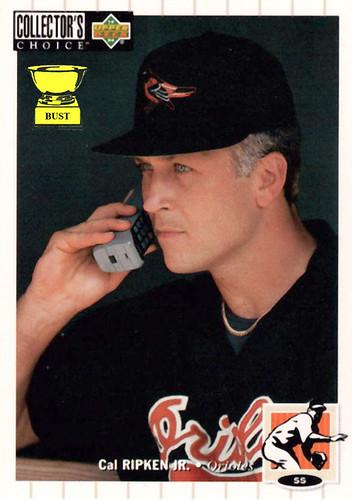Baseball Card Bust Cal Ripken Jr 1994 Upper Deck