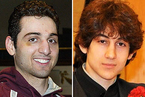 Tsarnaev brothers who are suspects in the Boston Marathon bombing. One brother was killed by the cops and the other was unarmed when captured. by Pan-African News Wire File Photos