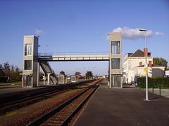 Gare de Mussidan-passerelle métallique