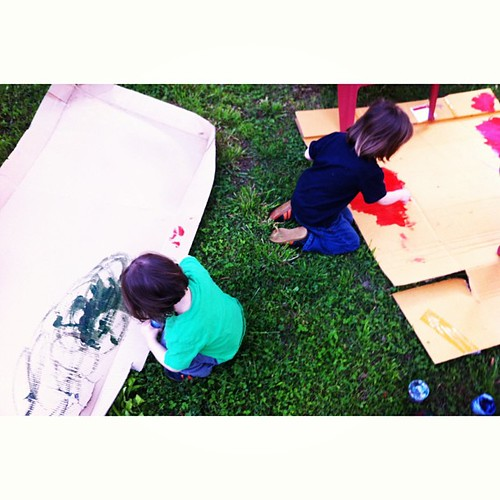 Backyard painting #fromabove