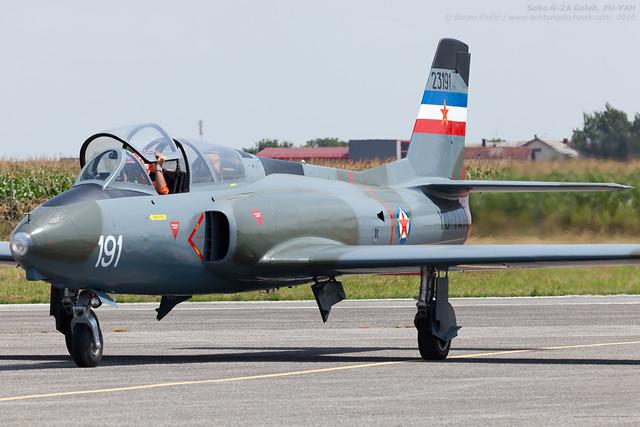 Soko G-2A Galeb, YU-YAH