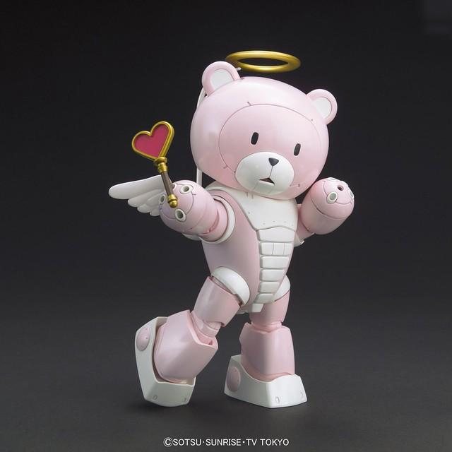 HGBF「粉紅天使版」的熊亞凱P 賣萌登場!