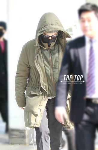 Big Bang - Incheon Airport - 01apr2015 - TOP - The TOP - 01