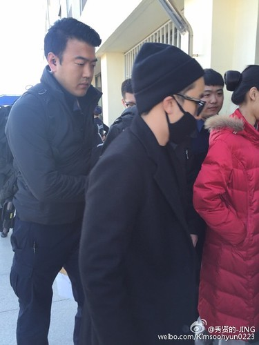 Big Bang - Harbin Airport - 21mar2015 - Kimsoohyun0223 - 11