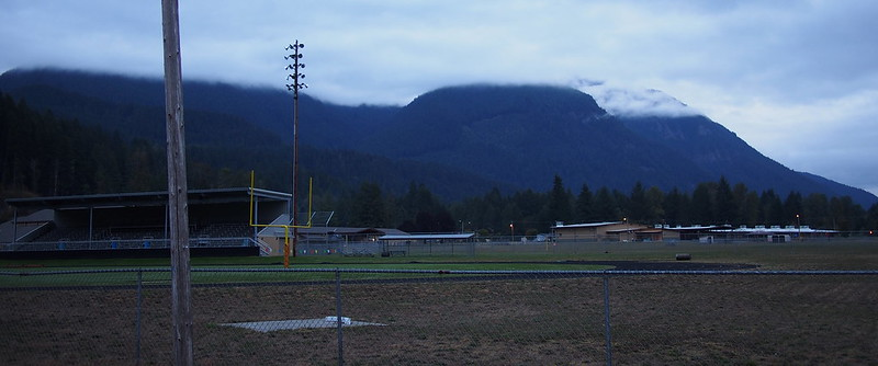 Mountains Over White Pass High School