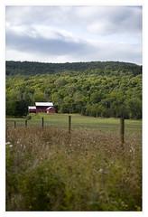 Red barn in New Paltz, NY