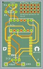 Attiny Sensor Board