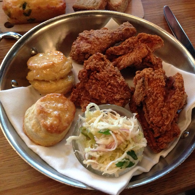 Hot Fried Chicken W/Honey Butter Biscuits @ The Dutch | Flickr - Photo ...