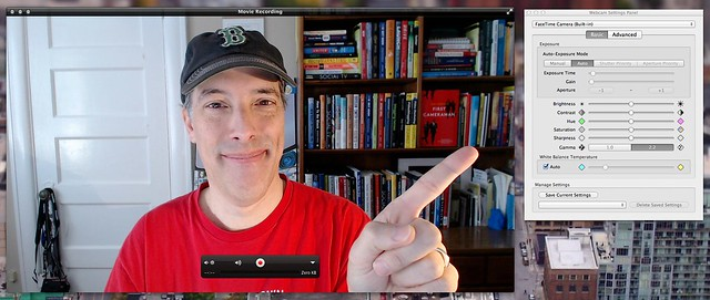Off On A Tangent: Manually Control Your Mac USB Webcam with
