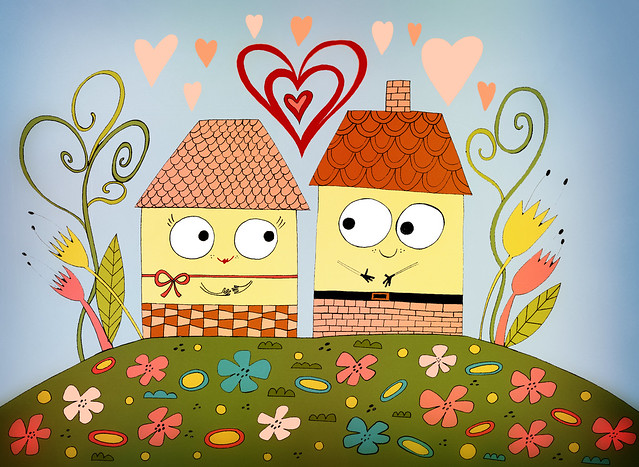 houses in love