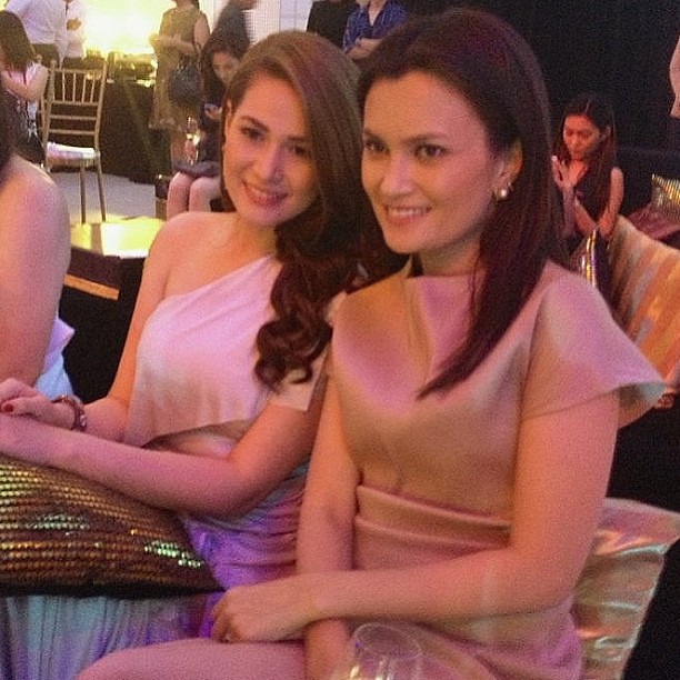 With pretty actress Bea Alonzo at #olayconversations. Can't believe she said she was a fan of my work - #urbanzone and all. She's so lovely!