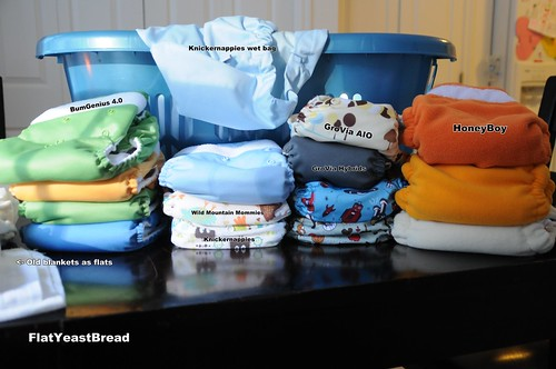 Diaper stash {SOOC}
