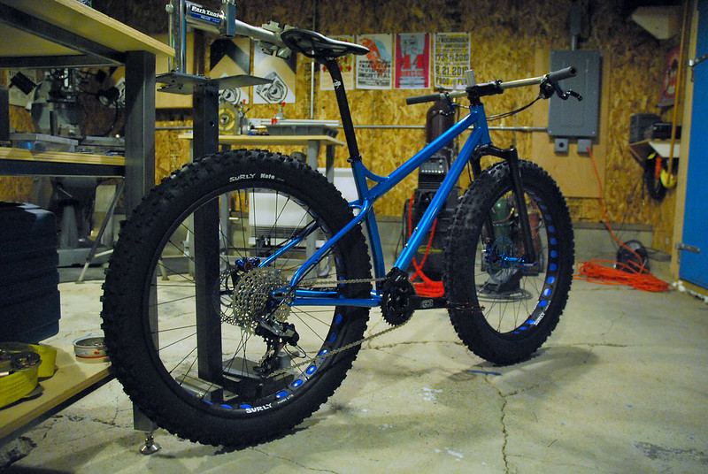 Patrick's Complete Fat Bike