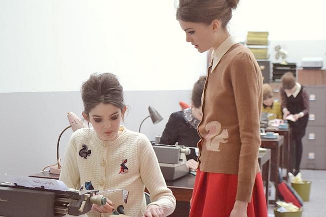 daisybutter - UK Style and Fashion Blog: orla kiely aw13, london fashion week aw13, english fashion, english rose