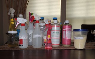 Assorted DIY Cleaning Supplies (1)