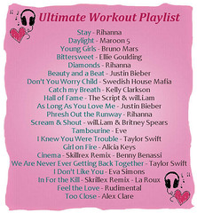 Thumbnail image for Ultimate Workout Playlist