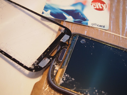 Galaxy s3 screen removal