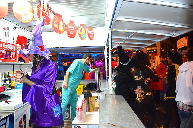 Carnival Cerveza kiosk, Tenerife