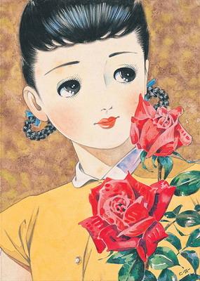 松本かつぢ バラの少女