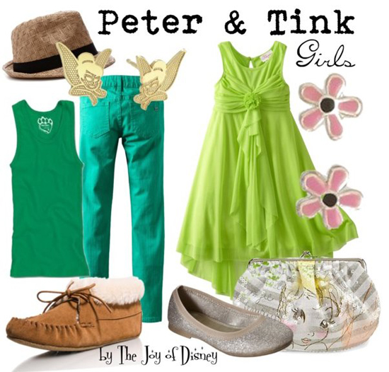 Peter Pan & Tinkerbell (Peter Pan)