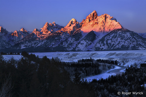 The Tetons and The Snake River Redux