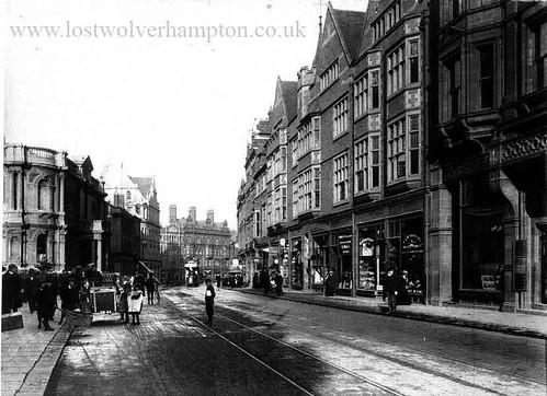New Lichfield Street circa 1920.