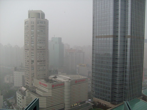From my Chinese house - SMOG & HUMIDITY