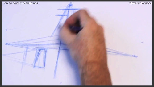 learn how to draw city buildings 005
