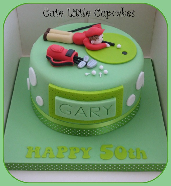 Fondant Golf Cake Design : Golf Birthday Cake Cake Ideas and Designs