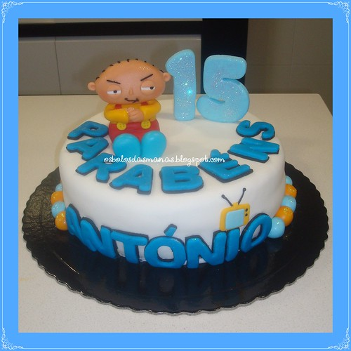 Bolo Stewie Family Guy by Osbolosdasmanas