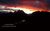 Sunset Over Grand Teton Mountain Range