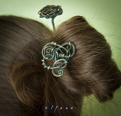 Палочки для волос / Hairpins for hair