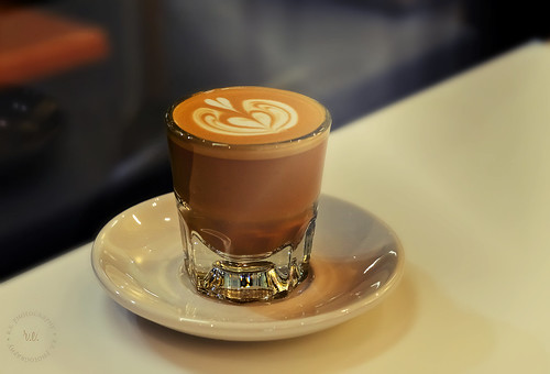 Café Cortado By Barista Eugene Lee ~ Cafe Dulce, Los Angeles